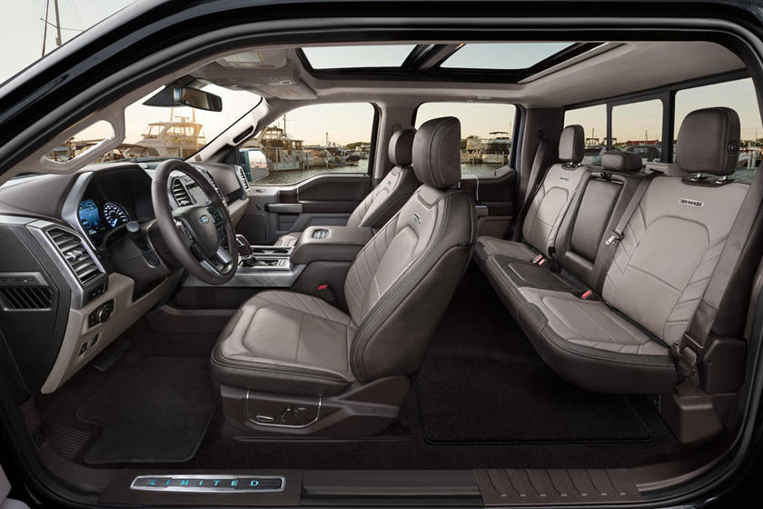 All-Electric F150 Interior