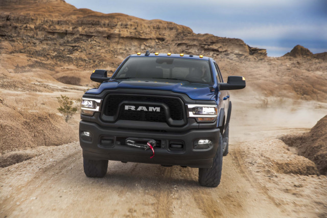 2020 RAM 2500 blue color