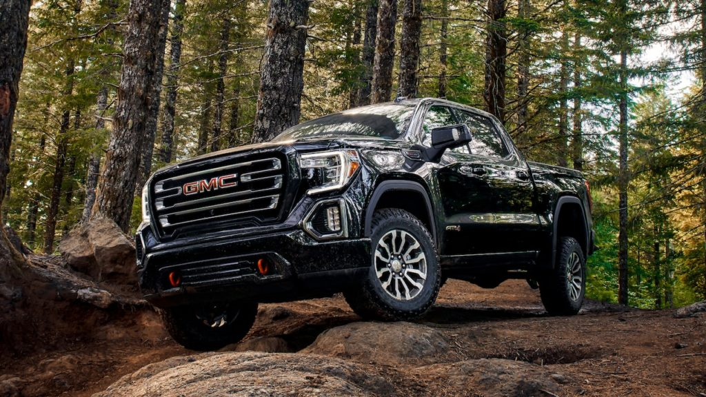 2020 GMC 1500 AT4 black
