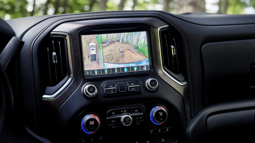 2020 GMC1500 AT4 touch screen